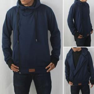 Jaket / Sweater Djavu Harakiri Biru Navy