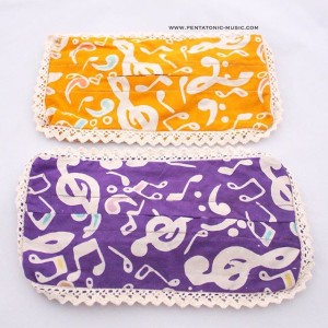 Tempat Tissue   Music Batik Tissue Cover