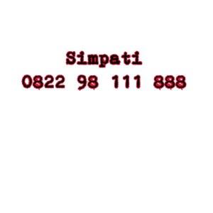 Nomor Cantik Simpati Seri double AAA 0822 98 111 888 #NY