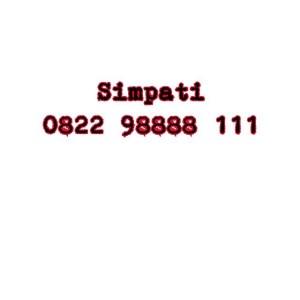 Nomor Cantik Simpati Seri double AAA 0822 98888 111 #Ny