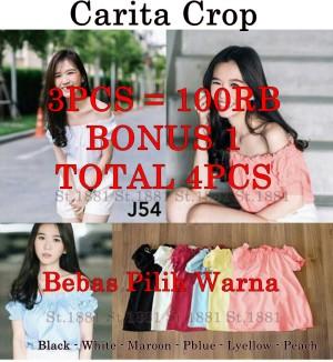 3PCS=100RB+ 1PCS BONUS. TOTAL 4PCS - Carita Crop