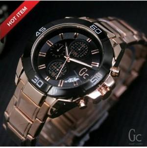 jam tangan pria gc new model sporty chrono