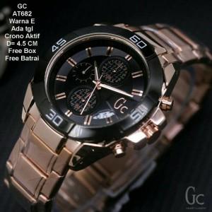 Jam Tangan Pria GC Mewah dan Eleghant(Rolex Tetonis Ripcul)