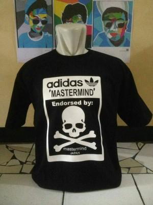 kaos/baju/t shirt adidas X mastermind