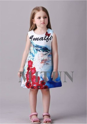 dress anak import mitun 1 tahun