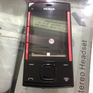 Kesing Casing Case Nokia X3 X3-00 Slide Fullset+tulangan