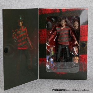 MAINAN ACTION FIGURE FREDDY KRUEGER JASON ARTIKULASI NECA