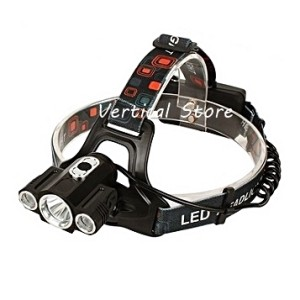 Senter Kepala / Headlamp Cree LED Triple Super Side T6 5000LM