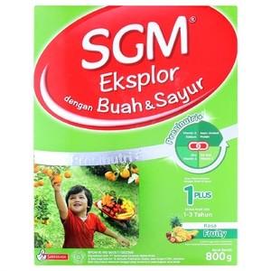 Susu SGM 1+ Buah Dan Sayur 800Gr