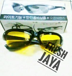 kaca mata UV 400 protection terbaru fitur laser dan led