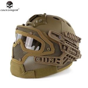 helmet/helm tactical airsofter D-4 coklat