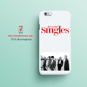 Casing Handphone KPOP BTS - Singles Magazine January Issue