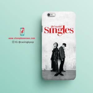 Casing Handphone KPOP J-Hope, Jungkook (BTS) - Singles Magazine