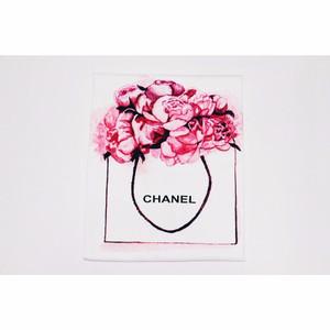 NEW JCLOTHES Tumblr Tee / Kaos Cewe / Kaos Wanita Flower - Putih HGB