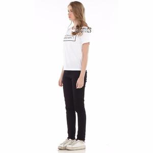 NEW JCLOTHES Tumblr Tee / Kaos Cewe / Kaos Wanita Bodo Amat - Putih HG