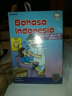Bahasa Indonesia 6 untuk SD/MI Kelas VI KTSP 2006