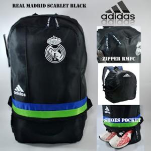 Tas Ransel / Backpack / Bodypack Klub Bola Real Madrid Scarlet Hitam