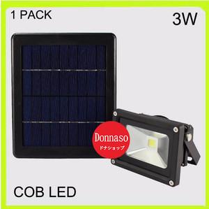 Lampu Sorot LED 3W Tenaga Matahari, Solar Cell Panel, Lampu Hemat