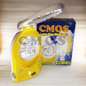 Lampu + Kipas Emergency CF-30 CMOS