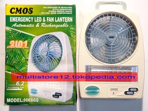 Lampu Emergency + Fan CMOS HK 669