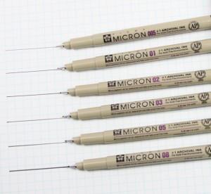 SAKURA PIGMA Micron Drawing Pen
