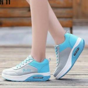 sepatu wanita KETS airmax FAIHIN ABU BIRU / sepatu kampus / casual