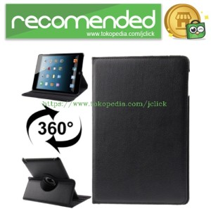 360 Degree Rotatable Litchi Texture Leather Case with Sleep / Wake-up