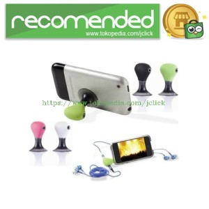 3.5mm Headphone Splitter Jack Adapter + Stand for iPod & iPhone - Gree
