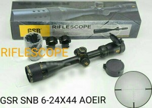 TELESCOPE / SCOPE GSR GOLD 6-24X44 AOE IR