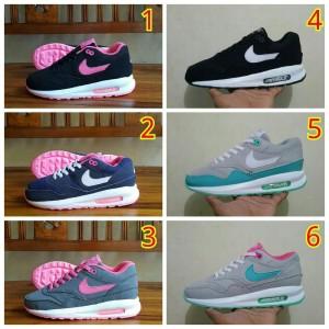 Sepatu Wanita Nike Airmax Lunar Cewe-Cewe Casual Running Grade Origin