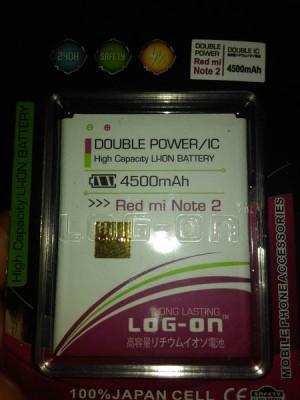 Batre Log on Double power IC Xiaomi Redmi Note 2