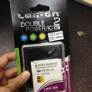Batre Log on Double power IC Samsung J3