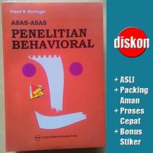 Asas-Asas Penelitian Behavioral - Fred N. Kerlinger Limited