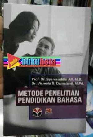 Metode Penelitian Pendidikan Bahasa - Syamsuddin AR Murah