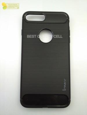 ORIGINAL Soft Case Iphone 7+ 7 Plus Carbon + Bumper Neo Hybird