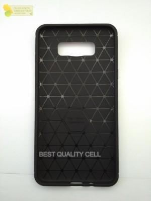 SoftCase Ipaky Carbon Fiber Samsung J7 2016 J710 (Rubber/Capsule/Case)