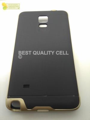 ORIGINAL Case IPAKY Samsung Note 4 Soft Carbon +Bumper Neo Hybird