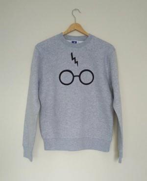 Sweater Harry Potter Glass Lightning - DEALDO MERCH