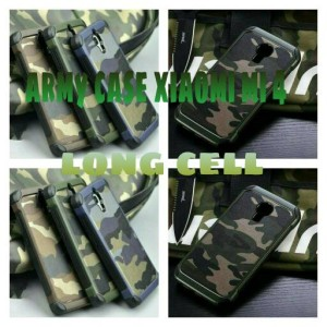 Back Hard Case Cover Casing Armor Bumper Motif Army Xiaomi Mi4
