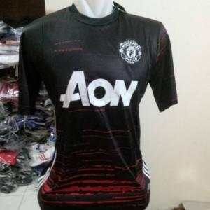Jersey Manchester United / MU ( Training ) hitam | Grade ori | 16/17