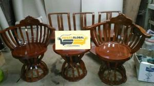 kursi teras mangkuk jati ( meja makan,lemari,dipan,nakas,duco)