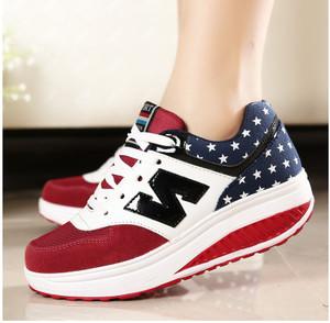 Grosir Sepatu Wanita Murah - Kets Wedges N UM03