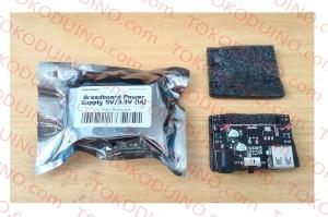 BREADBOARD POWER SUPPLY MB102 MB-102 REGULATOR 3,3V & 5V 1A ROBOTDYN