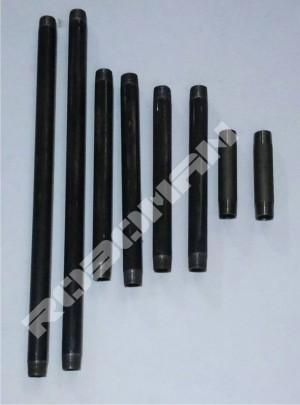 Pipa inchian 1/2 inch panjang 40cm hitam