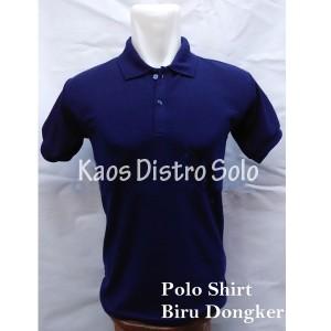 Polo Shirt/ Kaos Kerah/T Shirt/T Shirt Polo/Kaos Polo Navy