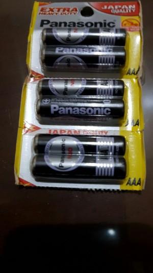Baterai AAA Panasonic