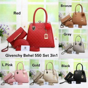 Givenchy Behel Set 3in1 Seri 550