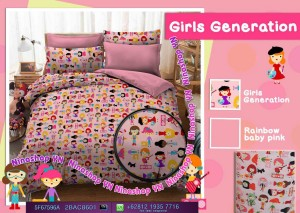 JUAL SPREI & BEDCOVER NEW GIRLS GENERATION