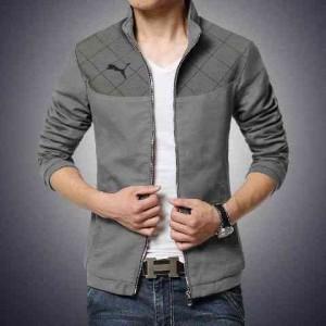 FG - [Jaket Puma Abu LO] jaket pria babyteri abu