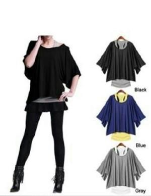 FG - [Blouse Nice AY] blouse wanita jersey variant color